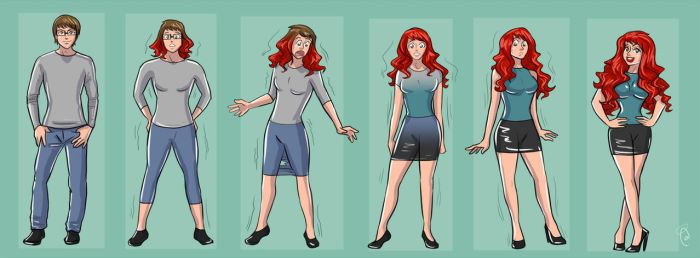 TG TF Sequence Redhead by K1tty-Marshmell0w