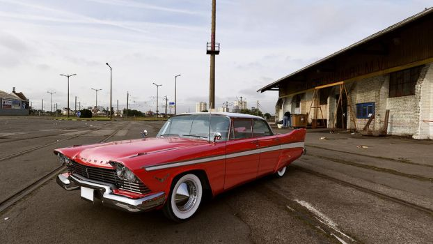 1957 Plymouth Belvedere by melkorius