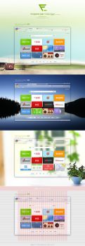 Navigation page 's Widget for Chrome by yingfengling-FL