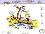 Calvin and Hobbes by zevin