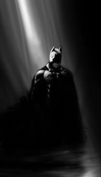 Batman by Holyrebelion
