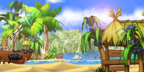 [MapleStory Background] Summertime Fun by bboki