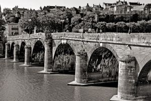 Angers - old bridge ( new edit ) by UdoChristmann