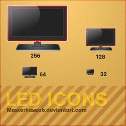 Led Icon by masterhaseeb
