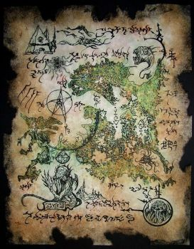 Rlyeh Map by MrZarono