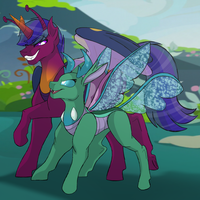 Trickster Cousins by Percy-McMurphy