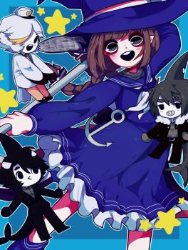 Wadanohara and the great blue sea by M3G4M3G4