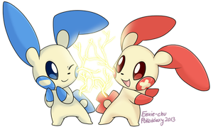 Pokeddexy Day 4: Electric-Type by Ambunny