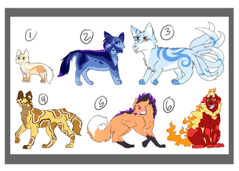 Canine Adopts! :OPEN: by RiverSpirit456