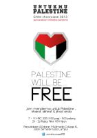 cnm showcase 2013 - palestine will be free by xandrian