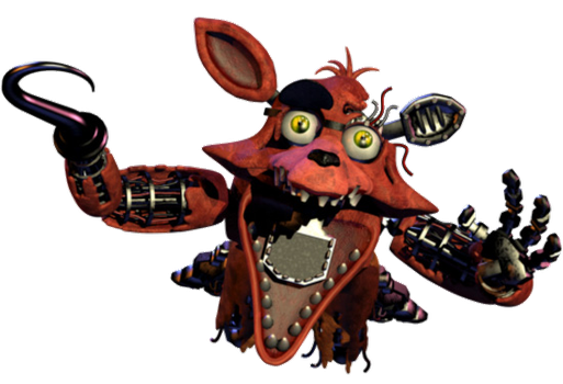 Foxy Jumpscare V2? by YinyangGio1987