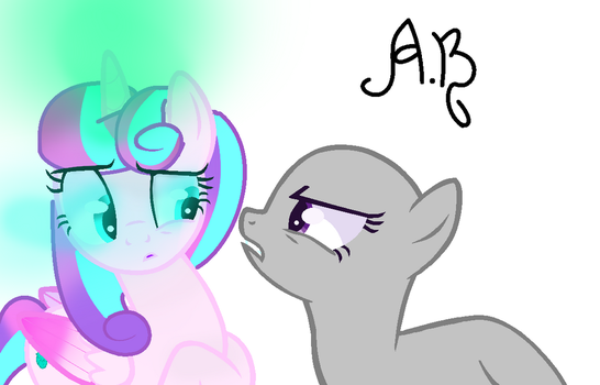 Flurry heart collab 1 F2U by AniBases