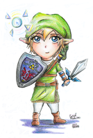 Chibi Link by PeaceMakerSama