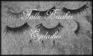 Eyelashes Brush Set by Falln-Stock