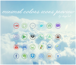 MINIMAL COLORS ICONS by deep3sh