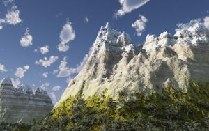 High Mountains by Hupie