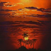 Bright African Sunset by CalciteMink1610