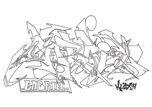 wildstyle for a fren by k-rul