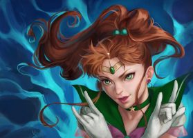 Sailor Jupiter by NerinFox