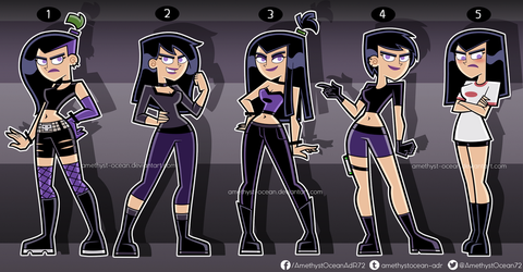 Sam Outfits Part 3 by Amethyst-Ocean
