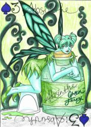 Cards - 3 - Absinthe by Lyxy