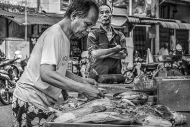 Fresh Fish at Chowrasta Market by pharaohz74