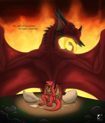 Legacy of the Red Dragons (10th Anniversary) by TargonRedDragon
