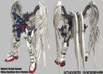 Gundam Wing Zero Custom by sandrum