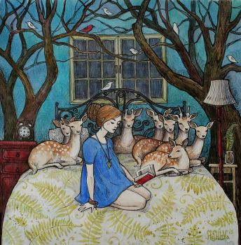 Bedtime Story by AnnWeaver