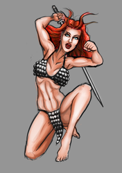 DAD 16 - Red Sonja by Agent-Foo