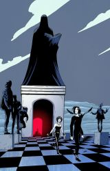 Sandman / The Endless by Cabbral