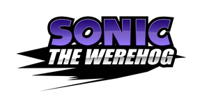 Sonic The Werehog logo by NuryRush