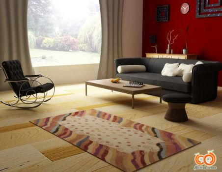 3D room facing garden by mkverma