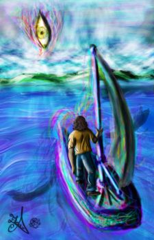 The Dream is the Sea and the Dreamer the Sailor by Icekler