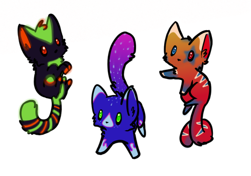 Tasty CATwork Adopts [3/3 OPEN] by SBS-Adoptables