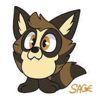 sage the tanuki tattletail by arthallea