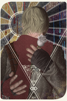 DA:I tarot card Cole (XIX, The Sun) by Vianiel