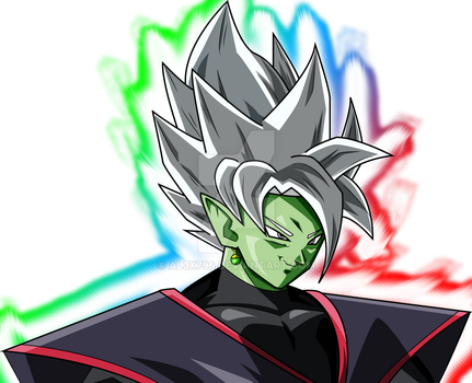 Merged God Zamasu aura by AL3X796