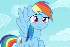 Adorable Rainbow Dash by Spottedlions