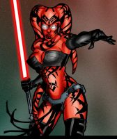 Darth Talon's lightsaber edit by Gardek