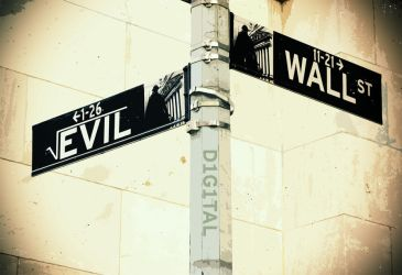The Root of all Evil: Wall St. by d1g1talco