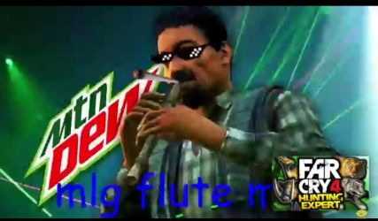 MLG flute man! by BluSniper21