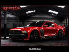 Ford Mustang Brute by Kallio by FutureMuscleCars