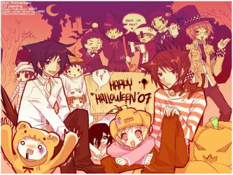HALLOWEEN2007: SuperJunior by mixed-blessing