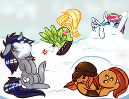 :There's Snow Better Way to Play: by Chocopepper