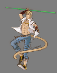 Sun Wukong by sheenaduquette