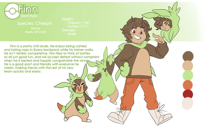 Finn Chespin Reference by Skitea