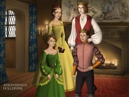 Belle and Adam's Family. by Katharine-Elizabeth