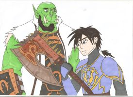 World of Warcraft - Strength of a true warrior 3 by Tyrannuss555