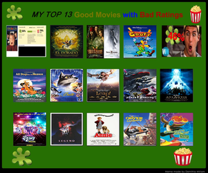 Top 13 Good Movies With Bad Ratings by dark-kunoichi92